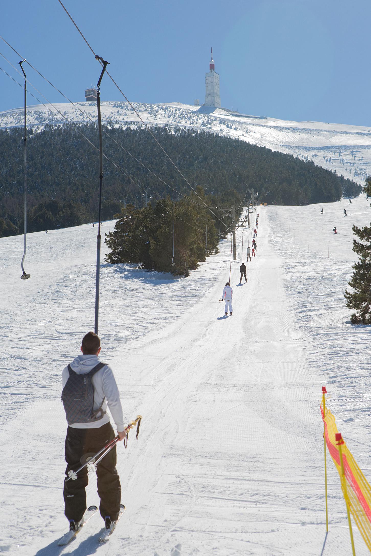 station de ski du mont ventoux au mont serein. Black Bedroom Furniture Sets. Home Design Ideas