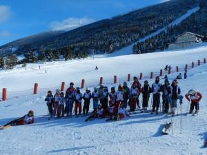 ski club groupe