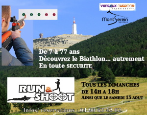 Run and shoot